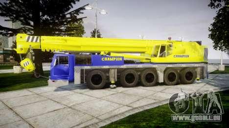 Die crane-Champion v2.0 für GTA 4 linke Ansicht