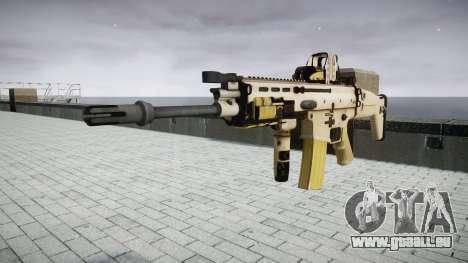 Maschine FN SCAR-L Mk 16 Ziel icon3 für GTA 4
