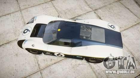 Ford GT40 Mark IV 1967 PJ Fernando Pedace 6 pour GTA 4 est un droit