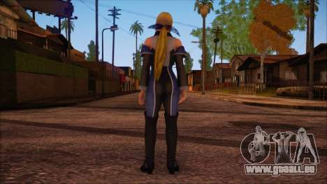 Modern Woman Skin 3 v2 für GTA San Andreas zweiten Screenshot