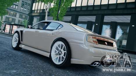 GTA 5 Bravado Buffalo für GTA 4 hinten links Ansicht