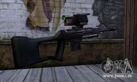 Fusil de Sniper (C&C Renegade) pour GTA San Andreas deuxième écran