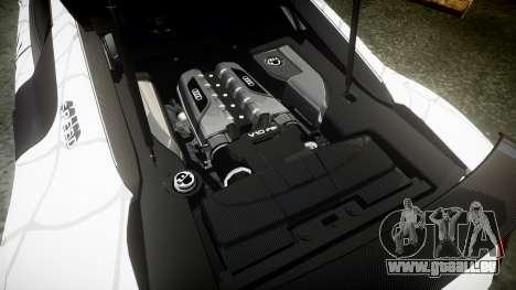 Audi R8 LMX 2015 [EPM] Carbon Series pour GTA 4 est un côté