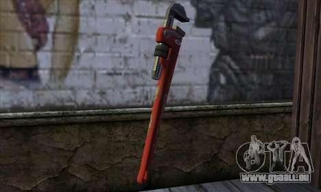 Wrench from Far Cry für GTA San Andreas zweiten Screenshot
