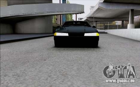 Japan Elegy pour GTA San Andreas sur la vue arrière gauche