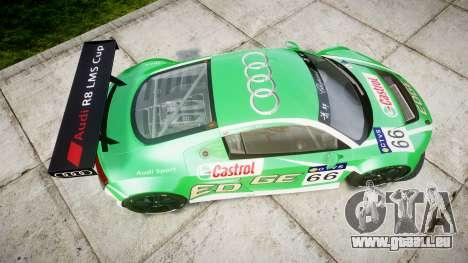 Audi R8 LMS Castrol EDGE für GTA 4 rechte Ansicht