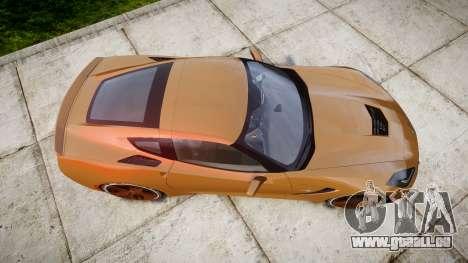 Chevrolet Corvette C7 Stingray 2014 v2.0 TireMi4 pour GTA 4 est un droit