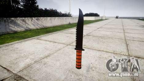 Couteau de combat Ka-Bar pour GTA 4 secondes d'écran