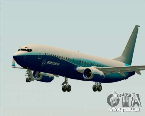Boeing 737-800 House Colors pour GTA San Andreas