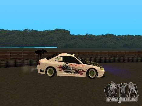 Nissan Silvia S15 VCDT für GTA San Andreas linke Ansicht