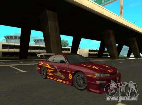 Nissan 200SX FnF1 (Letty car) für GTA San Andreas