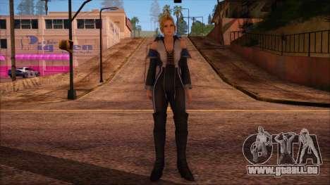 Modern Woman Skin 3 v2 pour GTA San Andreas