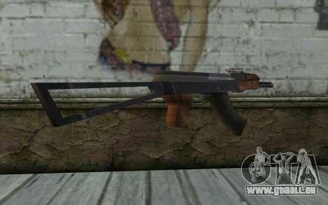 AK47 von Hitman 2 für GTA San Andreas dritten Screenshot