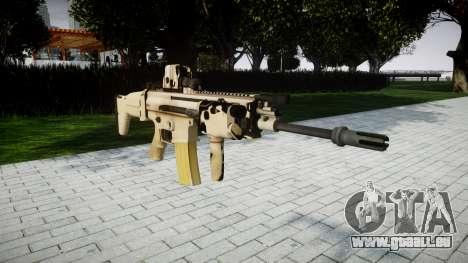 Maschine FN SCAR-L Mk 16 Ziel icon2 für GTA 4