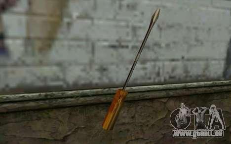 Schraubenzieher (GTA Vice City) für GTA San Andreas zweiten Screenshot