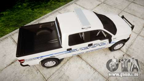 Ford F-150 [ELS] Liberty County Sheriff für GTA 4 rechte Ansicht