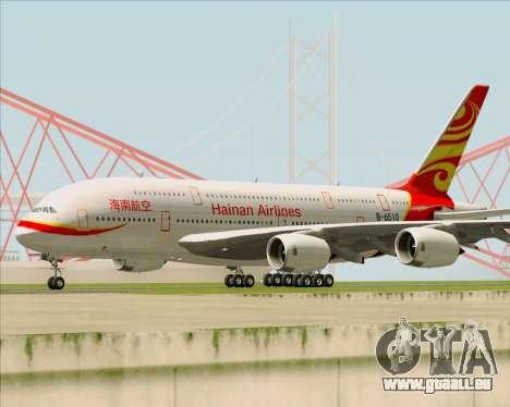 Airbus A380-800 Hainan Airlines für GTA San Andreas linke Ansicht
