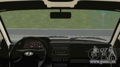 VAZ 2121 pour GTA San Andreas sur la vue arrière gauche