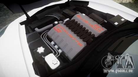 Chevrolet Corvette Z06 2015 TireBr3 pour GTA 4 est un côté