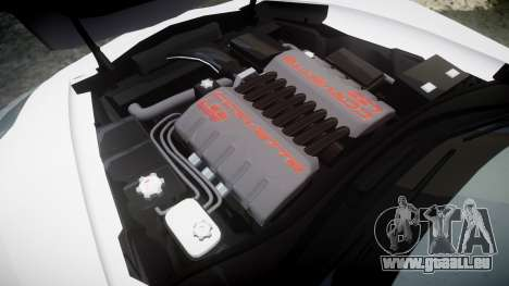 Chevrolet Corvette Z06 2015 TireKHU pour GTA 4 est un côté