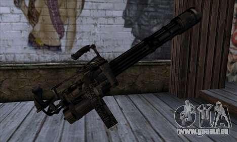 Pistolet Volcan v1 pour GTA San Andreas deuxième écran