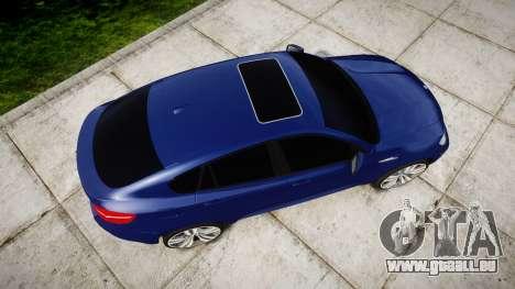 BMW X6M rims1 für GTA 4 rechte Ansicht