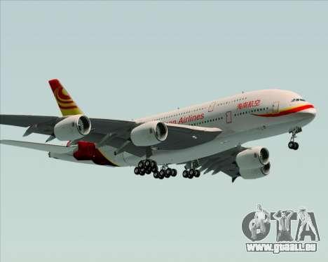 Airbus A380-800 Hainan Airlines für GTA San Andreas Seitenansicht
