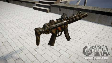 Pistolet MP5SD DRS CS pour GTA 4 secondes d'écran