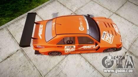 Mercedes-Benz 190E Evo II GT3 PJ 1 pour GTA 4 est un droit