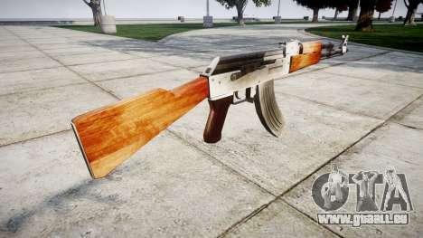 Die AK-47 HD für GTA 4 Sekunden Bildschirm