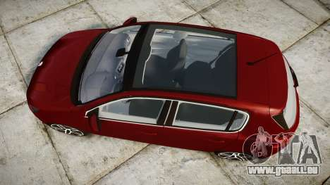 Peugeot 308 2015 pour GTA 4 est un droit