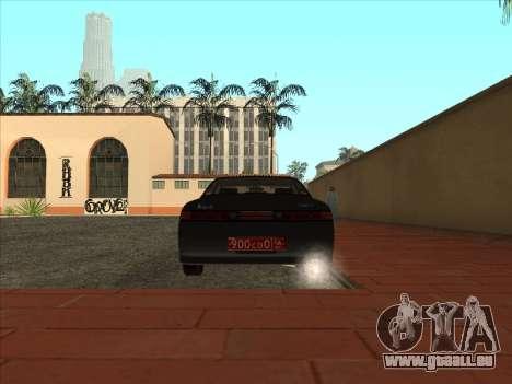 Toyota Mark II Consulaires pour GTA San Andreas vue de droite