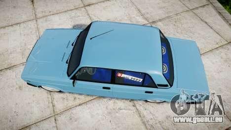 VAZ-2107 beste Modell für GTA 4 rechte Ansicht