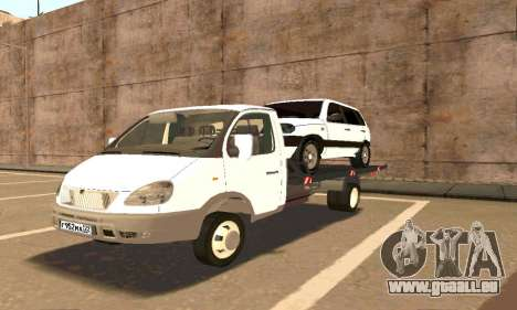 Gazelle Schlepptau 33023 Beta v1.2 für GTA San Andreas