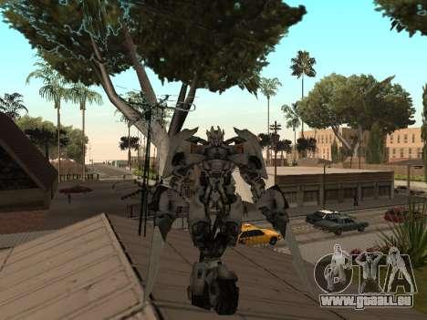 Transformers 3 Dark of the Moon Skin Pack pour GTA San Andreas quatrième écran