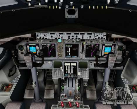 Boeing 737-800 House Colors pour GTA San Andreas salon