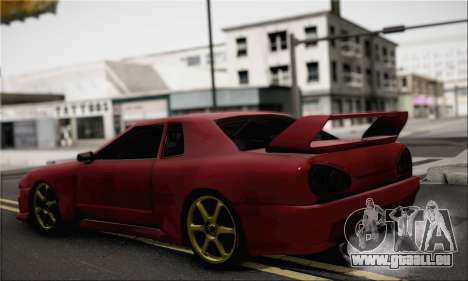 New Elegy Drift Edition für GTA San Andreas linke Ansicht