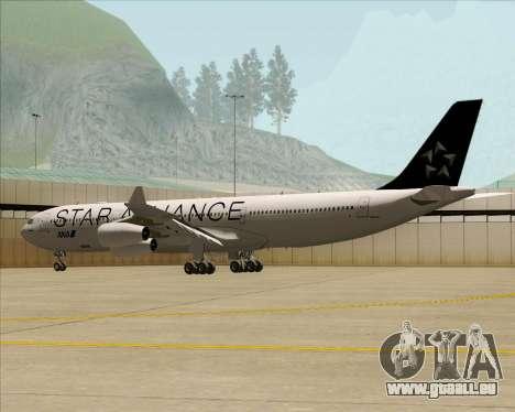Airbus A340-300 All Nippon Airways (ANA) pour GTA San Andreas vue de côté