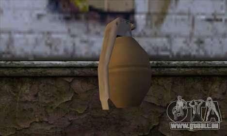 Grenade from GTA 5 für GTA San Andreas