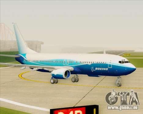 Boeing 737-800 House Colors für GTA San Andreas linke Ansicht