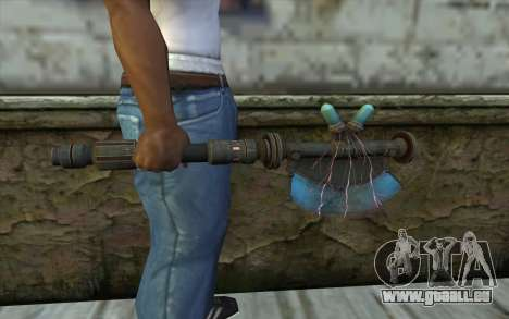 ProtonAxe From Fallout New Vegas für GTA San Andreas dritten Screenshot