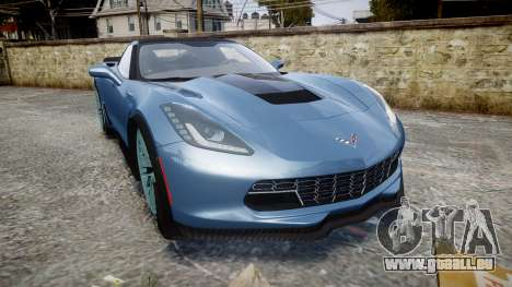 Chevrolet Corvette Z06 2015 TireMi1 für GTA 4