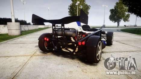 Ariel Atom V8 2010 [RIV] v1.1 Sheriftizer pour GTA 4 Vue arrière de la gauche