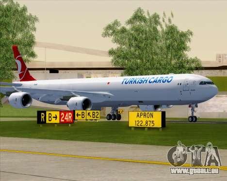 Airbus A340-600 Turkish Cargo pour GTA San Andreas vue de dessus
