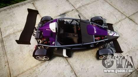 Ariel Atom V8 2010 [RIV] v1.1 FOUR C Motorsport pour GTA 4 est un droit
