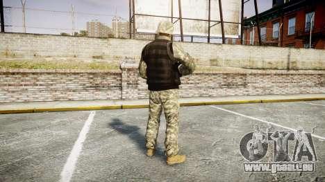Medal of Honor LTD Camo1 pour GTA 4 troisième écran