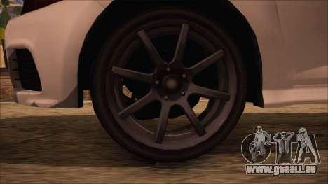 GTA 5 Blista pour GTA San Andreas sur la vue arrière gauche