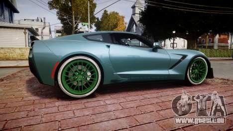Chevrolet Corvette Z06 2015 TireKHU pour GTA 4 est une gauche