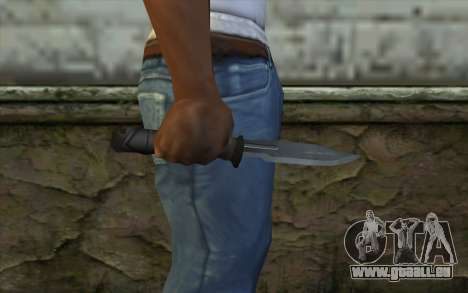 Retextured Knife für GTA San Andreas dritten Screenshot