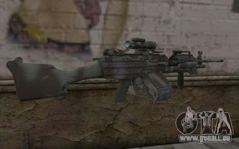Minigun MK48 für GTA San Andreas zweiten Screenshot